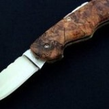 F36 - Spalted Maple Work Knife $350.00