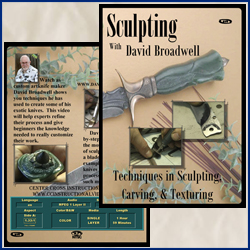 Sculpting with David Broadwell