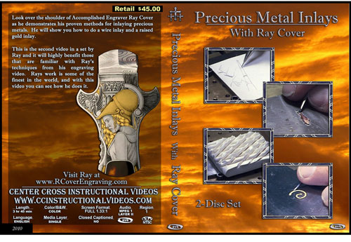 Precious Metal Inlays with Ray Cover