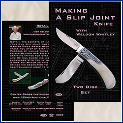 Making a Slip Joint Knife with Weldon Whitley
